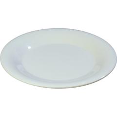 "CFS3301202CS - Carlisle - Sierrus Melamine Wide Rim Dinner Plate 9"" - White"
