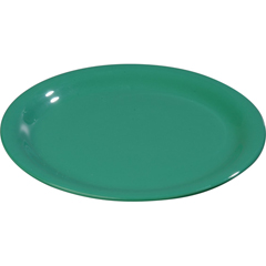 "CFS3301209CS - Carlisle - Sierrus Melamine Wide Rim Dinner Plate 9"" - Meadow Green"