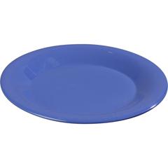 """CFS3301614CS - Carlisle - Sierrus Melamine Wide Rim Salad Plate 7.5"""" - Ocean Blue"""