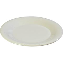"CFS3301842CS - Carlisle - Sierrus Melamine Wide Rim Pie Plate 6.5"" - Bone"