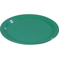 "CFS3302009CS - Carlisle - Sierrus Melamine Wide Rim Bread And Butter Plate 5.5"" - Meadow Green"