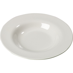 CFS3303042CS - Carlisle - Sierrus Melamine Chef Salad Pasta Bowl 20 oz - Bone