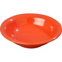 CFS3303252CS - CarlisleSierrus Melamine Rimmed Bowl 16 oz - Sunset Orange