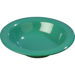 CFS3304009CS - Carlisle - Sierrus Melamine Rimmed Bowl 9 oz - Meadow Green