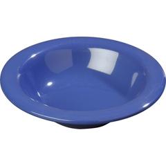 CFS3304014CS - CarlisleSierrus Melamine Rimmed Bowl 9 oz - Ocean Blue