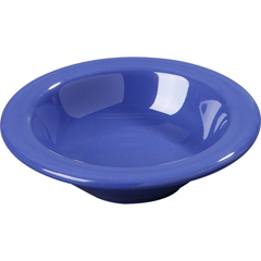 CFS3304214CS - CarlisleSierrus Melamine Rimmed Fruit Bowl 4.5 oz - Ocean Blue