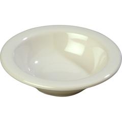 CFS3304242CS - CarlisleSierrus Melamine Rimmed Fruit Bowl 4.5 oz - Bone