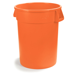CFS34101024CS - Carlisle10 Gal Bronco Trash Can - Orange