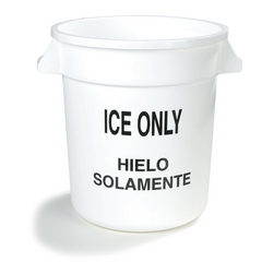 CFS341010ICE02CS - CarlisleIce Only Round Container