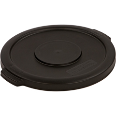 CFS34101103CS - Carlisle - Bronco Round Waste Bin Food Container Lid 10 Gallon - Black