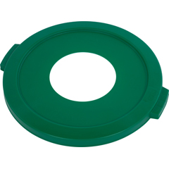 CFS341045REC14CS - CarlisleBronco™ Round Recycling Lids with Hole for Cans