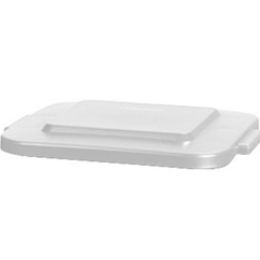 CFS34154102CS - Carlisle40 Gal Bronco Square Lid - White