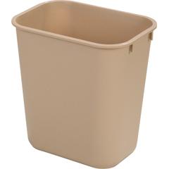 CFS34291306CS - CarlisleOffice Wastebasket 13 Qt - Beige