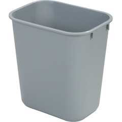 CFS34291323CS - CarlisleOffice Wastebasket 13 Qt - Grey