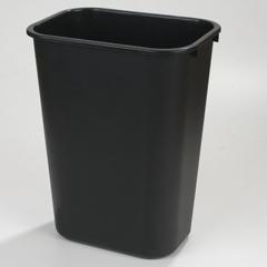 CFS34294103CS - Carlisle - Wastebasket 41-1/4 qt - Black