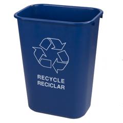 CFS342941REC14CS - Carlisle - Recycle Wastebasket 41.25 Quarts