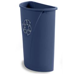 CFS343021REC14CS - CarlisleCenturian™ Half Round Recycling Container 21 Gallon