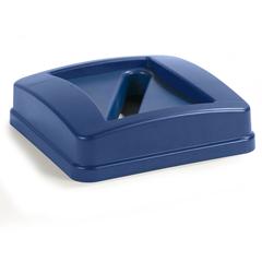 CFS343526REC14CS - Carlisle - 23 Gal Centurian™ Paper Recycle Lid - Blue