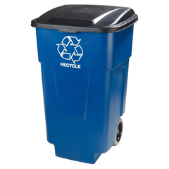 CFS345050REC14CS - Carlisle - 50 gal Recycle Rolling Container