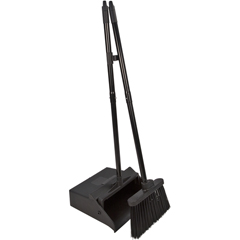"CFS36141503CS - Carlisle - Duo-Pan Lobby Pan  Duo-Sweep Broom Combo 36"" - Black"