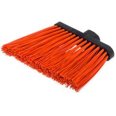 "CFS3686824CS - Carlisle - Duo-Sweep® Heavy Duty Angle Broom w/12"" Flare (Head Only) 8"" - Orange"