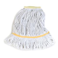 CFS369413B00CS - CarlislePremium Small Natural Yarn Mop Heads with Yellow Band