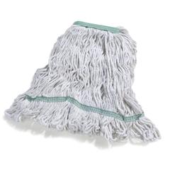CFS369419B00CS - CarlislePremium Medium Natural Yarn Mop Heads with Green Band