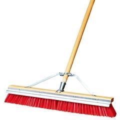 CFS36952424CS - CarlisleFlo-Pac® Polypropylene Sweep with Steel Scraper Blade