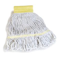 CFS369550B00CS - CarlisleEconomy Small Natural Yarn Mop Heads with Yellow Band