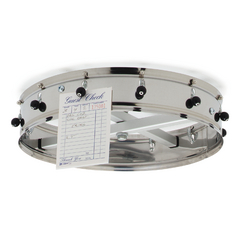 CFS3812CHCS - Carlisle12 Clip Ceiling Hung Order Wheel 14 - Stainless Steel