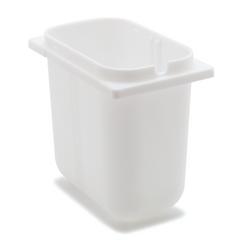 """CFS38508CS - Carlisle2-1/2 Qt Fountain Jar 4-19/32"""", 7-15/32"""", 7"""" - White"""