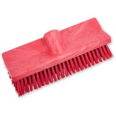 CFS40423EC05CS - Carlisle - 10 Bi-Level Scrub Brush- Red
