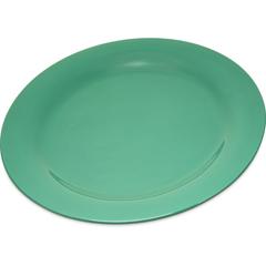 "CFS4300209CS - Carlisle - Durus® Melamine Dinner Plate Narrow Rim 10.5"" - Green"