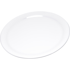 "CFS4300402CS - Carlisle - Durus® Melamine Narrow Rim Dinner Plate 9"" - White"