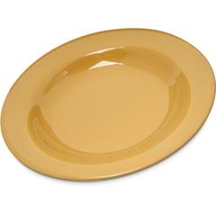 CFS4303022CS - Carlisle - Durus® Melamine Chef Salad Pasta Bowl 20 oz. - Honey Yellow