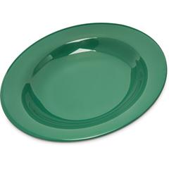 CFS4303409CS - CarlisleDurus® Melamine Pasta Soup Salad Bowl 13 oz - Green