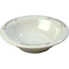 CFS43037909CS - Carlisle - Durus® Melamine Rimmed Bowl 12 oz - Versailles on Bone