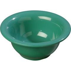 CFS4303809CS - CarlisleDurus® Melamine Rimmed Nappie Bowl 10 oz - Green