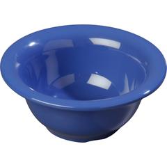 CFS4303814CS - CarlisleDurus® Melamine Rimmed Nappie Bowl 10 oz - Ocean Blue