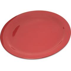 "CFS4350005CS - Carlisle - Dallas Ware® Melamine Dinner Plate 10.25"" - Red"