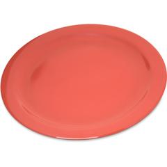 "CFS4350052CS - Carlisle - Dallas Ware® Melamine Dinner Plate 10.25"" - Sunset Orange"