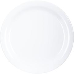 "CFS4350102CS - Carlisle - Dallas Ware® Melamine Dinner Plate 9"" - White"