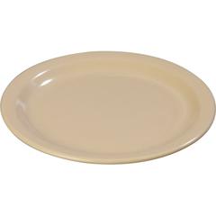 "CFS4350125CS - Carlisle - Dallas Ware® Melamine Dinner Plate 9"" - Tan"