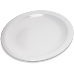 "CFS4350502CS - Carlisle - Dallas Ware® Melamine Bread  Butter Plate 5.5"" - White"