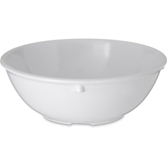 CFS4352102CS - CarlisleDallas Ware® Melamine Nappie Bowl 14 oz - White