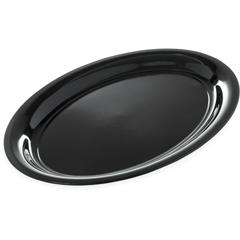 "CFS4384003CS - CarlisleCatering Platter 21"" x 15"" - Black"