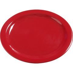 """CFS4385005CS - Carlisle - Dayton Melamine Dinner Plate 10.25"""" - Red"""