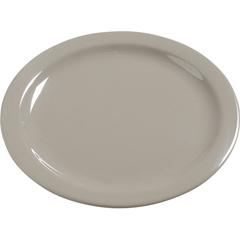 """CFS4385031CS - CarlisleDayton Melamine Dinner Plate 10.25"""" - Truffle"""