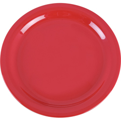 "CFS4385205CS - CarlisleDayton Melamine Dinner Plate 9"" - Red"