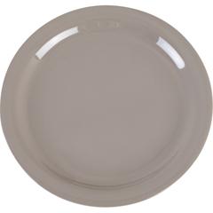 """CFS4385231CS - CarlisleDayton Melamine Dinner Plate 9"""" - Truffle"""